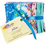 Fabric Editions 2.5 by 42-Inch Jellies Fabric Palette, 20-Pack, Punch of Paisley