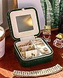 Plush Velvet Jewelry Box | Travel Jewelry box