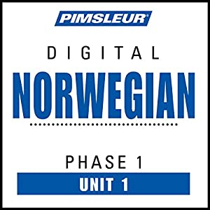 Norwegian Phase 1, Unit 01 Audiobook
