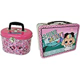 L.O.L. Surprise! 390007-2DS L.O.L Surprise! Tin Lunchbox & Doll Storage Box, Pink (Pack of 2)
