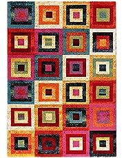 ABC Tappeti tapijt Gioia lila/meerkleurig 80 x 150 cm
