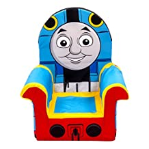Marshmallow Furniture, Children's Upholstered High Back Chair, Thomas & Friends, by Spin Master