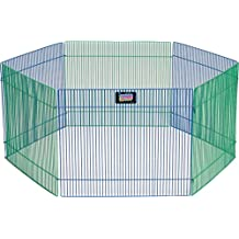 Midwest Home For Pets 277763 Small Pet Playpen 6 Panel 15 by 19-Inch