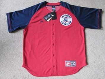 Cleveland Indians MLB Béisbol Botón Abajo Jersey - Hafner # 48 ...