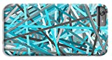 iPhone 8 Plus Slim Case ''Link - Turquoise And Gray Abstract'' by Pixels