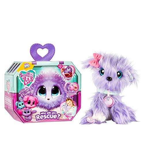 Little Live Scruff-A-Luvs Plush Mystery Rescue Pet – Purple