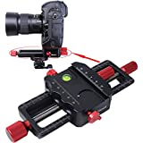 Universal All Metal 150mm Macro Focusing Rail Slider Close-up Shooting Head Camera Support Bracket H