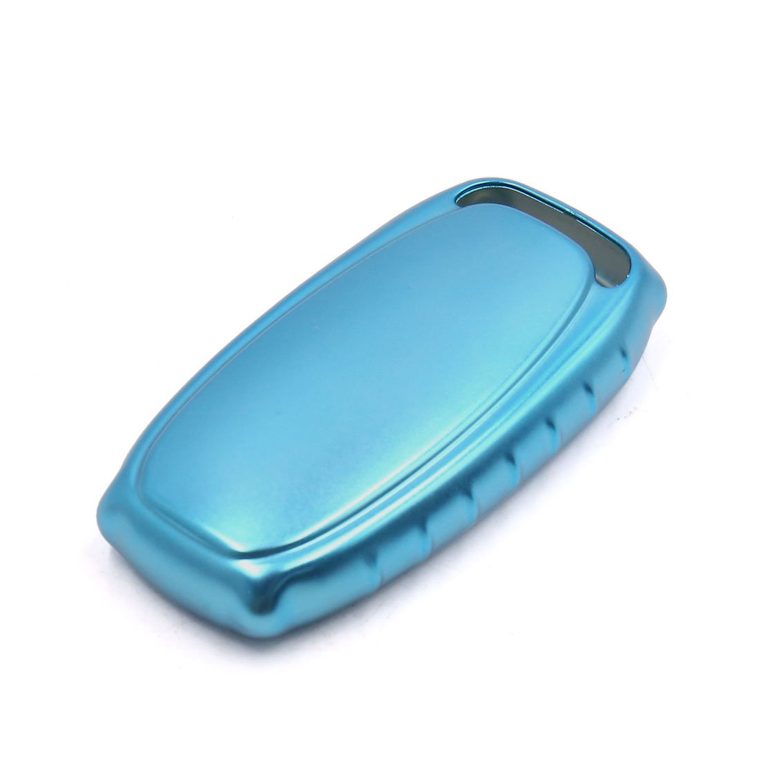 uxcell Blue Remote Key Case Holder Shell Protect Cover Fit For Audi A4L A6L A7 A8 S5 by uxcell