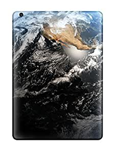 Fashion Tpu Case For Ipad Air- Earth Planet Best Dekstop Defender Case Cover