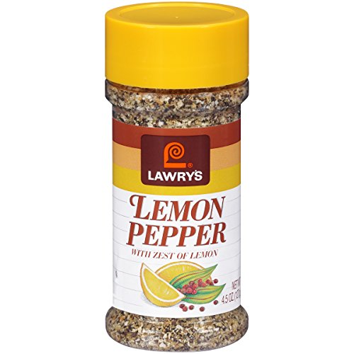 (Lawry's Lemon Pepper Blend, 4.5 oz (Pack of 4))