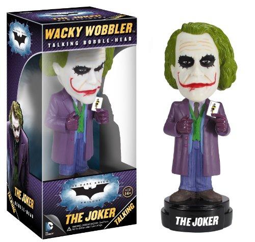 Funko Dark Knight Movie The Joker Wacky Wobbler(Discontinued by manufacturer)