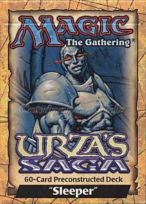 Magic the Gathering Card Game Urza's Saga Pre-constructed Theme Deck