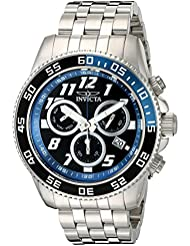 Invicta Mens Pro Diver Swiss Quartz Stainless Steel Watch, Color:Silver-Toned (Model: 20478)