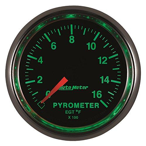 Auto Meter 3844 GS Electric Pyrometer Gauge Kit