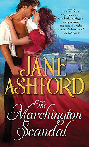 book cover of The Marchington Scandal