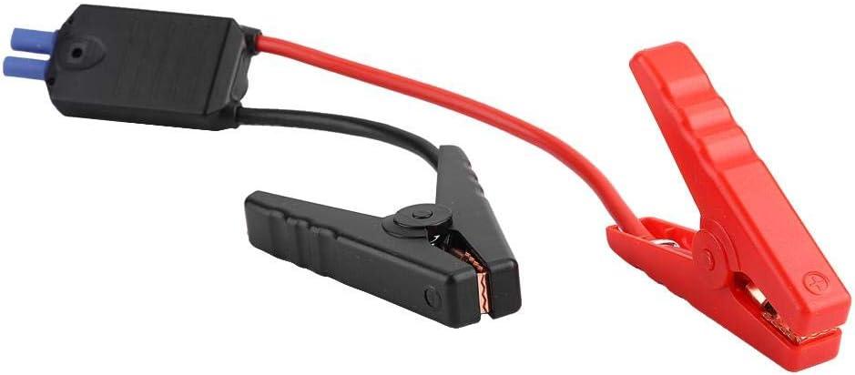 KIMISS Clip per batteria per auto Test di avviamento di emergenza per auto di emergenza Clip per batteria Test per cavo Morsetto per cavo Connettore EC5 12V