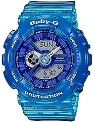 Casio Baby-G BA110JM-2A Womens Watch Blue