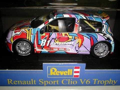 Revell 1/18 RENULTe ルノースポーツ clio クリオトロフィー NO 81