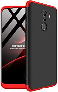 Solaxi Funda Xiaomi Pocophone F1 Carcasa Mate 3 en 1 360 Grados ...