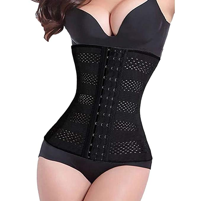 ab667a96a Women s 28cm Height Latex Waist Trainer Corset Body Shaper Cincher Tummy  Girdle Shapewear Slimming Underbust Control