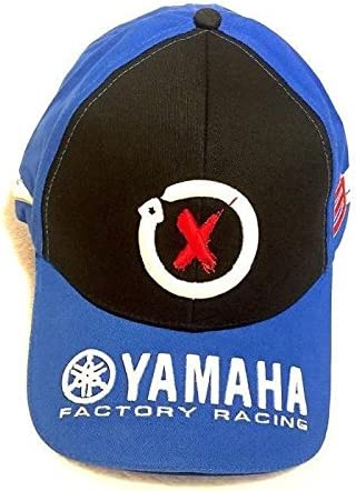 Gorra Yamaha Official Team Moto GP 99 Jorge Lorenzo, color azul y ...