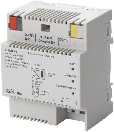 Siemens - Fuente alimentación n125/22 640ma 4 módulo
