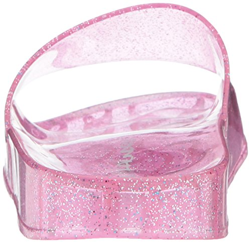 Skittentøy Ved Chinese Vaskeri Kvinners Gi Glide Sandal Rosa Polyvinylklorid Gelé
