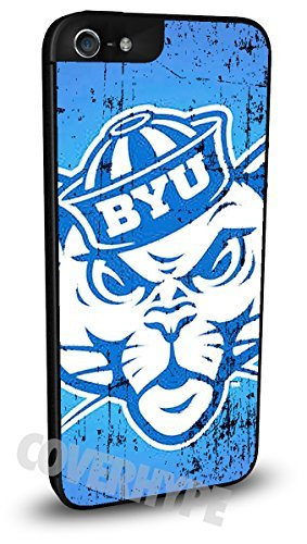 BYU Cougars Cell Phone Hard Plastic Case for iPhone ()