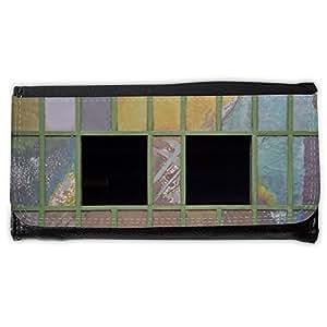 le portefeuille de grands luxe femmes avec beaucoup de compartiments // M00157925 Ventana de cristal de color de cristal // Large Size Wallet