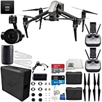 DJI Inspire 2 Premium Combo with Zenmuse X5S and CinemaDNG and Apple ProRes Licenses Filmmaker Starters Bundle