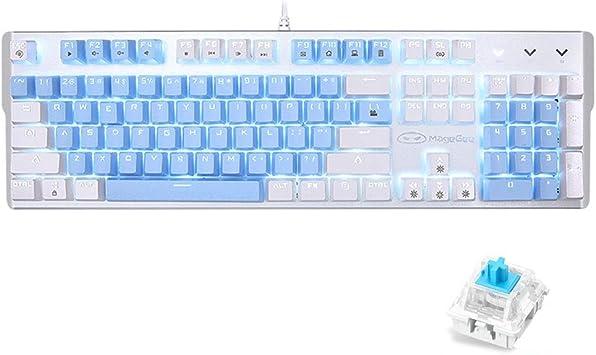 104 Keys Wired Cooling Illuminated LED light Backlight Gaming Keyboard PC