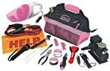 Apollo Precision Tools DT0515P Roadside Tool Set, Pink, 54-Piece, Donation Made to Breast Cancer Research