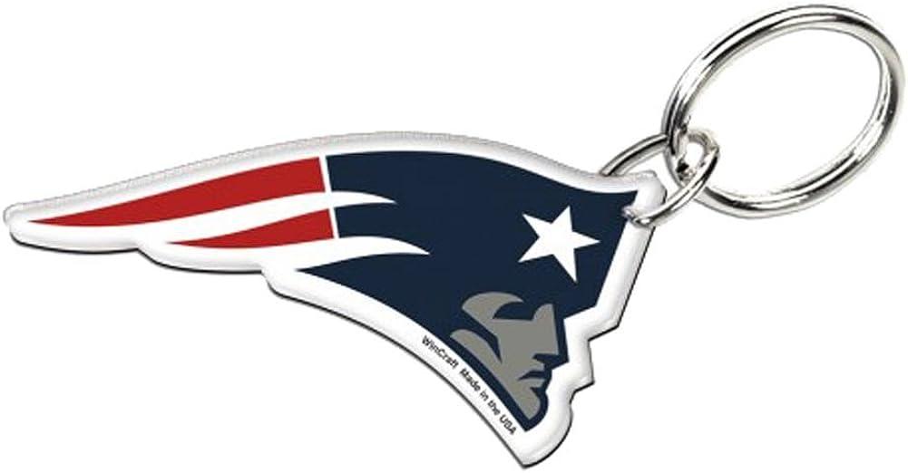 Wincraft New England Patriots Premium Logo Nfl Schlüsselanhänger Bekleidung
