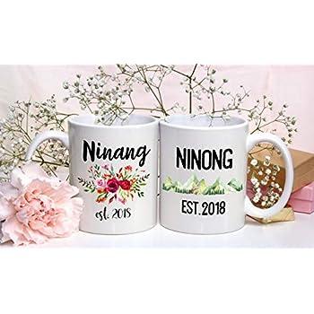 com ninang ninong mug set filipino pregnancy reveal