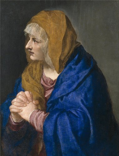 Oil Painting 'Titian [Vecellio Di Gregorio Tiziano] Mater Dolorosa 1554', 30 x 39 inch / 76 x 100 cm , on High Definition HD canvas prints is for Gifts And Bar, Basement And Kids Room Decoration, fine