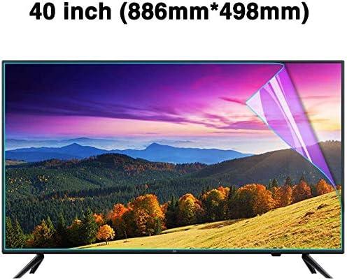 DPPAN 50 Pulgadas TV Protección de Pantalla para Televisor, Ultra Claro Antirreflejos Screen Protector, LED Anti Luz Azul Protección Ojos Película Protectora,A: Amazon.es: Electrónica