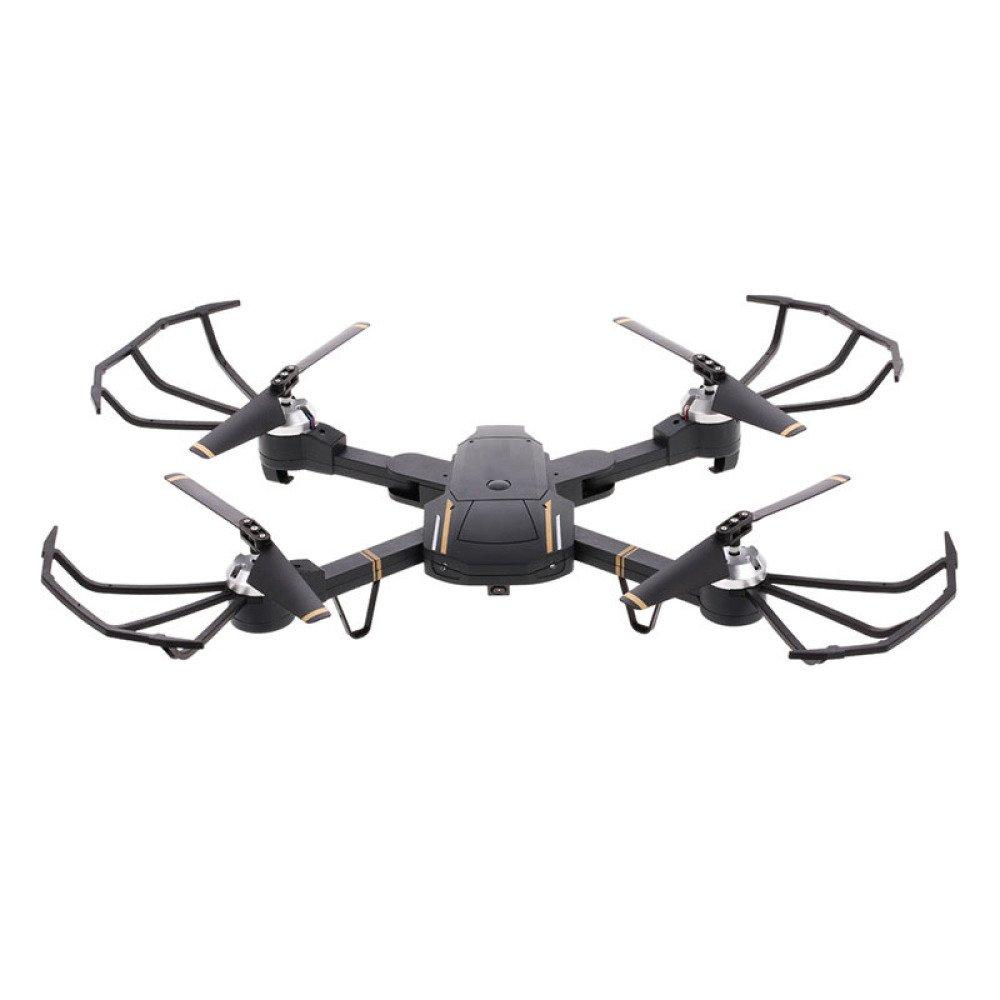 minoristas en línea QAS Avión Plegable de la fotografía aérea del del del Aeroplano teledirigido Modelo de la aviación cuadripolo descendente,Negro,200W  ventas de salida