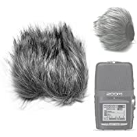 Fomito EN-15 Furry Microphone Windscreen Wind Cover for ZOOM H2N Recorder Pen