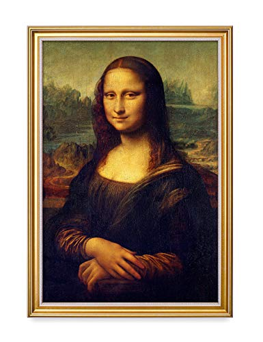 - DECORARTS - Mona Lisa by Leonardo Davinci. The World Classic Art Reproductions. Giclee Print with Matching Art Frame, 16x24, Total Size w/Frame: 18.5x26.5