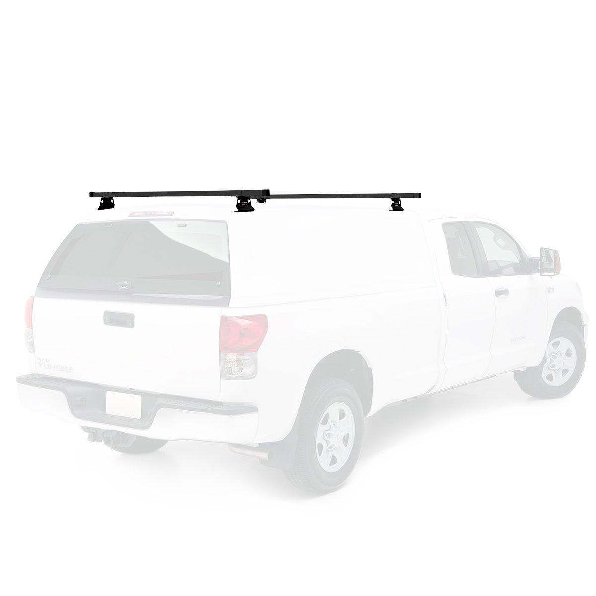 Vantech Universal Pickup Topper M1000 Ladder rack w// 60 Bar STEEL Black