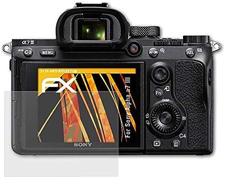 Atfolix Panzerfolie Kompatibel Mit Sony Alpha A7 Iii Kamera