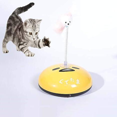 FXQIN Robot de Barrido Divertido Gato 2 en 1, Robot Aspirador para ...