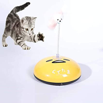 FXQIN Robot de Barrido Divertido Gato 2 en 1, Robot ...
