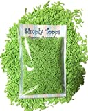 Green Sugar Strands cake sprinkles 30g for cake or cupcake decorations