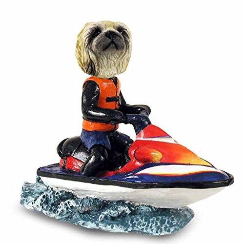 Pekingese Jet Ski Doogie Collectable Figurine