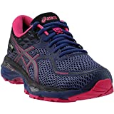 ASICS Womens Gel-Cumulus 19 G-Tx Running Athletic Shoes, Purple, 7