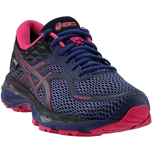 ASICS Womens Gel-Cumulus 19 G-TX Running Athletic Shoes Purple 8