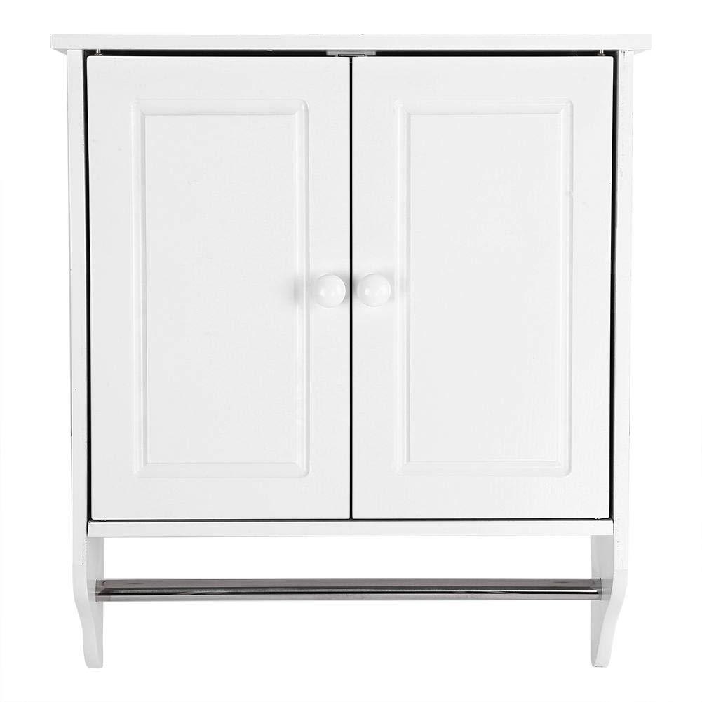Estantería Armario Baño mueble armario perchero de pared de ...
