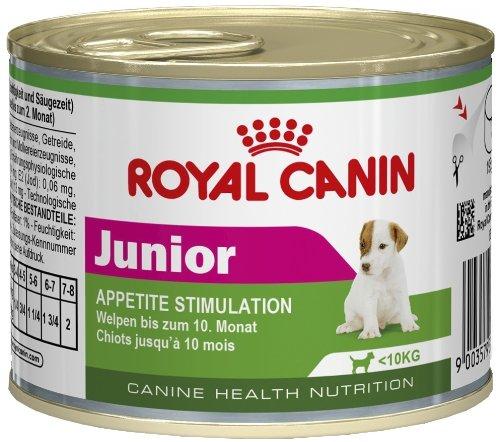 Royal canin comida húmeda en lata para perros júnior de raza pequeña