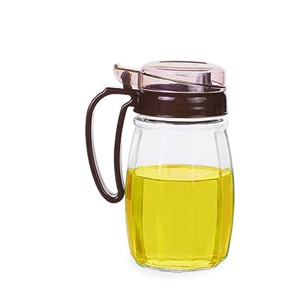 GBT Botella de condimentos Botella de aceite Vidrio a prueba de fugas Botella de aceite Cocina